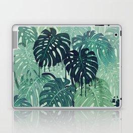 Monstera Melt (in Green) Laptop & iPad Skin