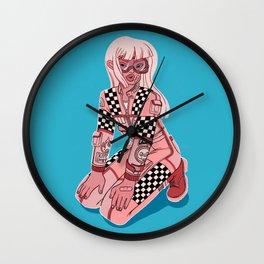 EAT DUST! Wall Clock