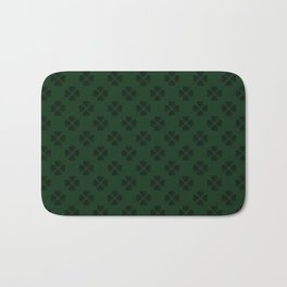 Four-Leaf Clover Pattern Bath Mat