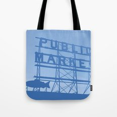 Pike Place - Public Market (Seattle, WA) Tote Bag