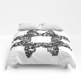 Butterfly Symmetry Comforters