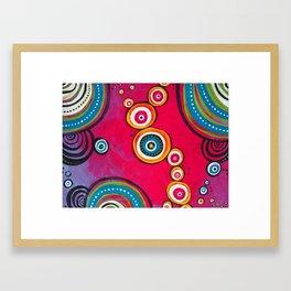 fractals Framed Art Print