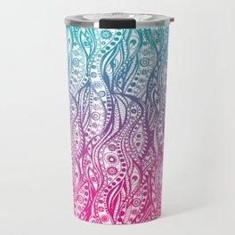 Distorted Dream Print (Color) Travel Mug