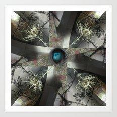 Mandala series #04 Art Print