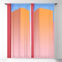 Skyscrapers In The City Blackout Curtain