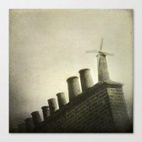 uk Canvas Prints featuring UK by Nikoletta Bati