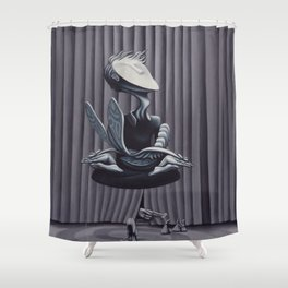 Liberation, With String Shower Curtain