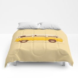 Van - Yellow Comforters