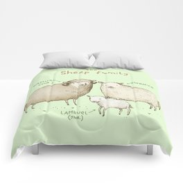The Sheep Family Comforters