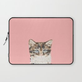 Kitten cutest pastel gift for valentines day cat pet friendly furry friend fur baby kittens animal Laptop Sleeve