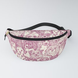dogs aplenty cherry pearl Fanny Pack