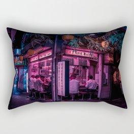 Ramen Corner in Tokyo Rectangular Pillow
