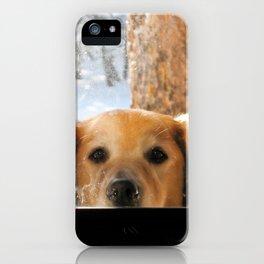 Whacha Doin'? iPhone Case