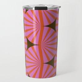 Abstraction_Stripe_Line_Art_Minimalism_001 Travel Mug