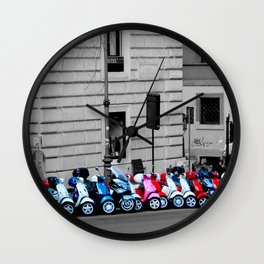 Scoot Scoot Wall Clock