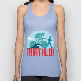 Triathlon Unisex Tank Top
