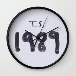1989TS Wall Clock