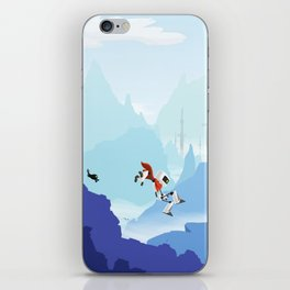 Down The Mountainside iPhone Skin