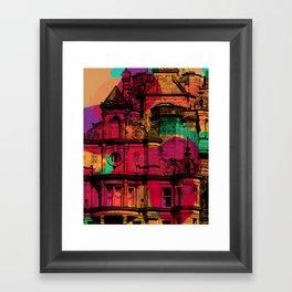 Like Lava II Framed Art Print