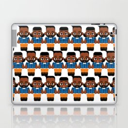 Just another hipster chick and dude! Laptop & iPad Skin