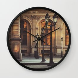 Paris lights Wall Clock