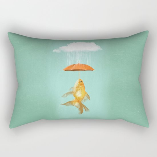 Fish Cover Rectangular Pillow