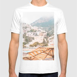 Positano, Italy Summer Time Photography T-shirt