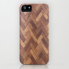Wood Pattern 2 Slim Case iPhone (5, 5s)