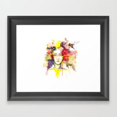 Our Private Garden Framed Art Print