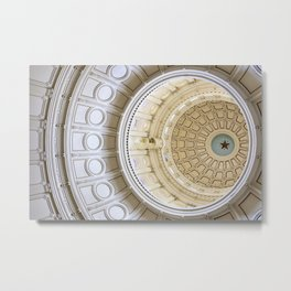 Austin Texas Capital Dome Metal Print