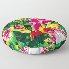 Tropical Panorama part 1 Floor Pillow