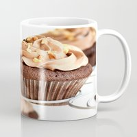 nutella Mugs featuring nutella cup cake by anna ramon photography