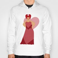 moulin rouge Hoodies featuring Rouge by KH Illustrations