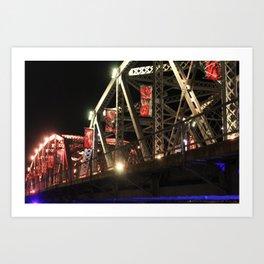 Langevin Bridge Art Print