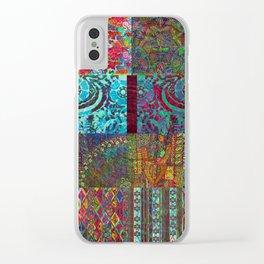 Bohemian Wonderland Clear iPhone Case