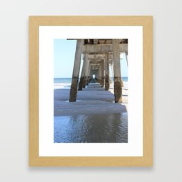 Under the Dock Framed Art Print