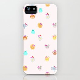 animales iPhone Case