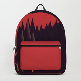 A Cabin in the Wood Backpack
