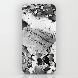 Certain Changes iPhone Skin