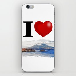 I Love Napoli iPhone Skin