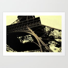 Close to the Top. Art Print