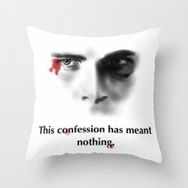 Patrick Bateman (American Psycho) Throw Pillow