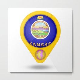 Kansas Metal Print