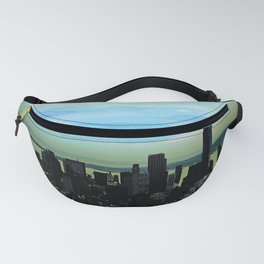 Artistic NYC Skyline Fanny Pack