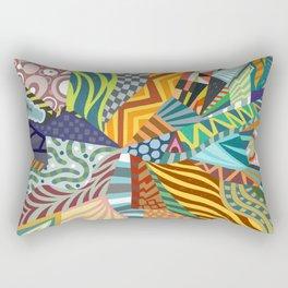 Pattern Explosion Rectangular Pillow