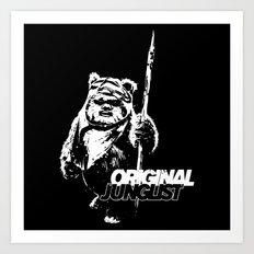 Wicket Original Junglist Art Print