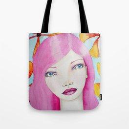 Bella SASS Girl - Pink - SASS = STRONG and SUPER SMART Tote Bag