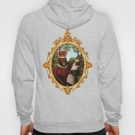 Monkey Queen with Pug Baby Hoody