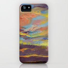 Atahualpa Sunset iPhone Case