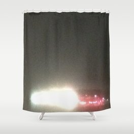 Abstracte Light Art in the Dark 5 Shower Curtain